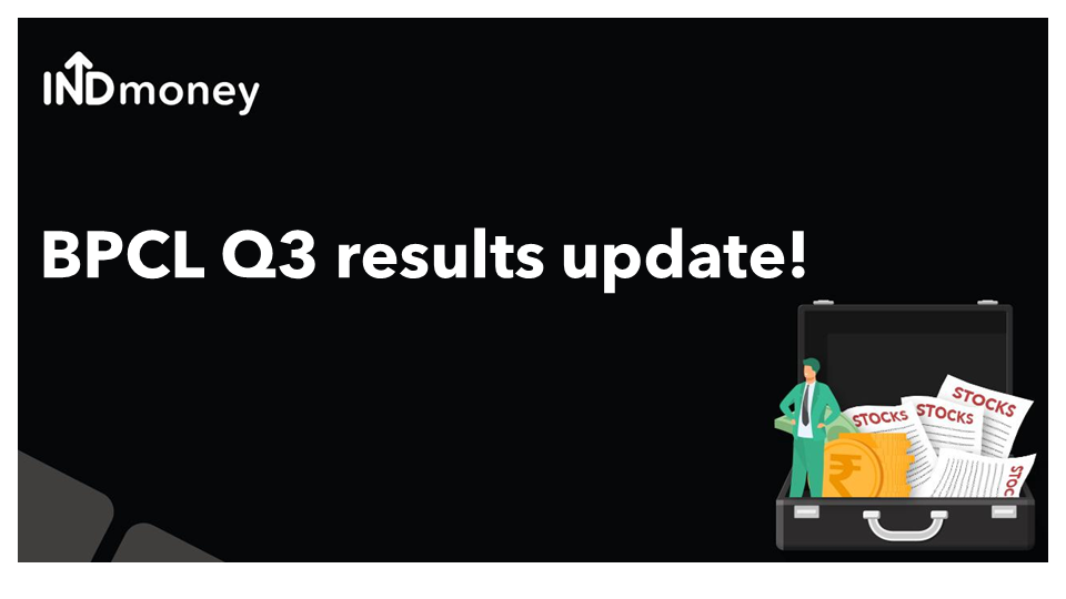 BPCL Q3 results update