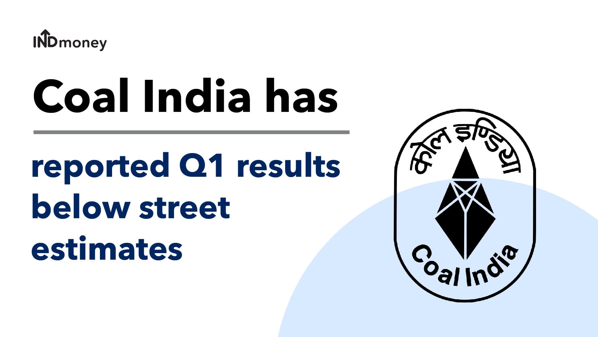 Coal India Results: Coal India Q1 Results (2021) Date, Earnings and News