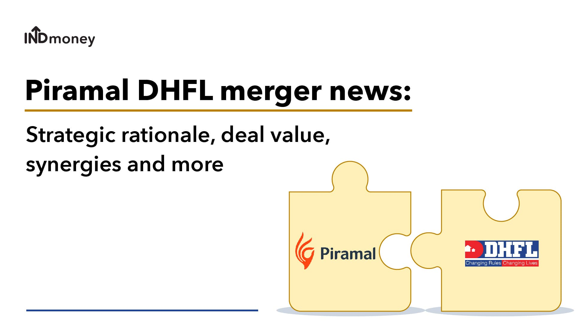 Piramal DHFL merger news: Strategic rationale, deal value, synergies and more