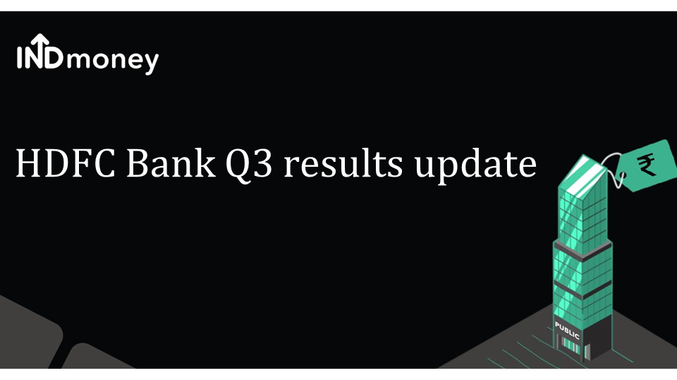 HDFC Bank Q3 results!