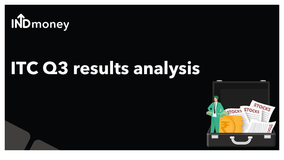 ITC Q3 results analysis