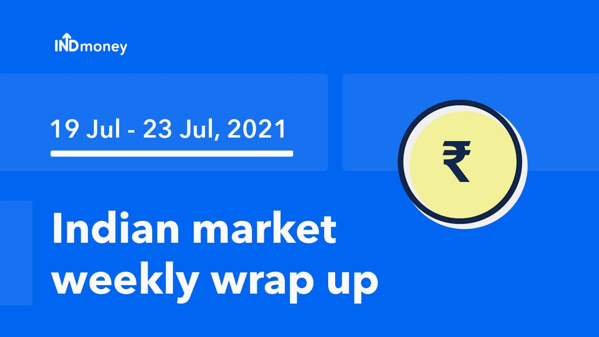 Market wrap: Nifty sees weekly loss as Q1 earnings, macro data and global cues weigh