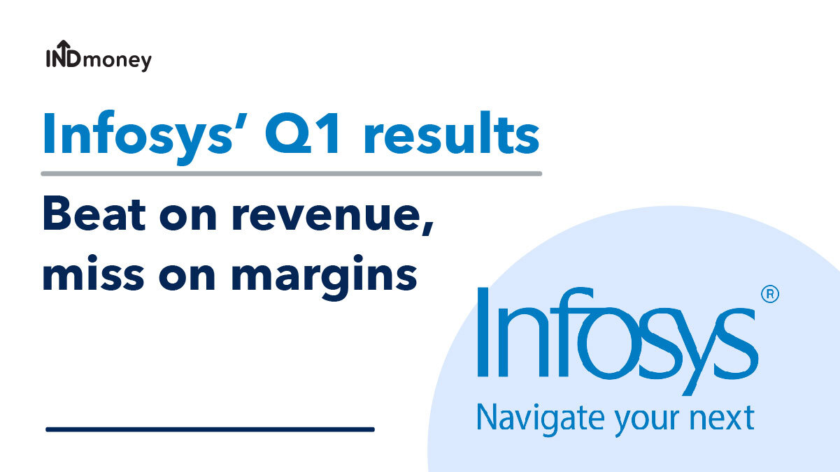 Infosys Quarterly Results: Infosys Q1 Results (2021-22), Earnings & News