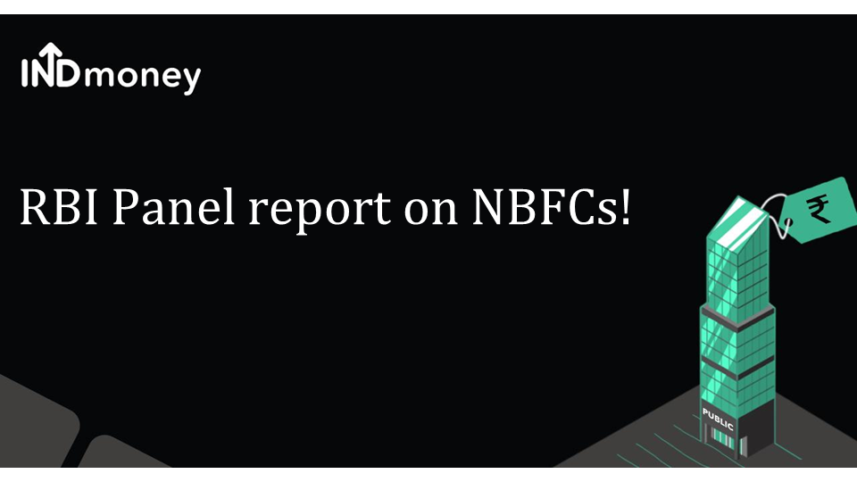RBI panel report may benefit large NBFCs
