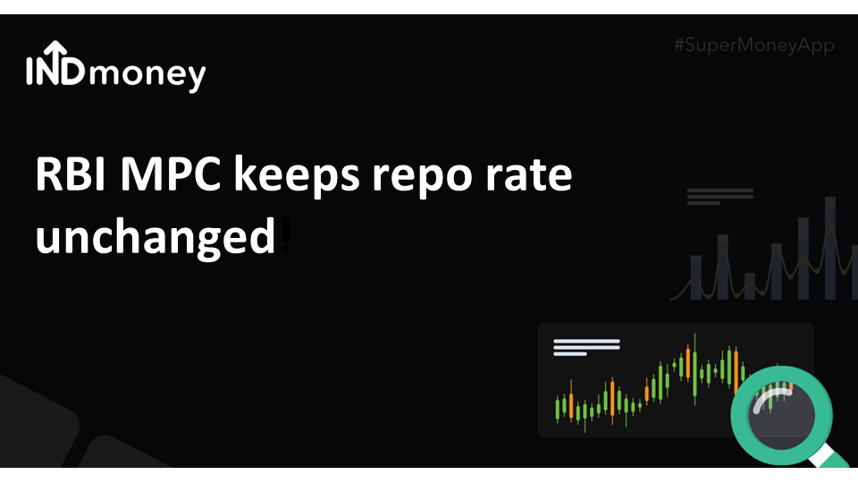 RBI MPC keeps repo rate unchanged