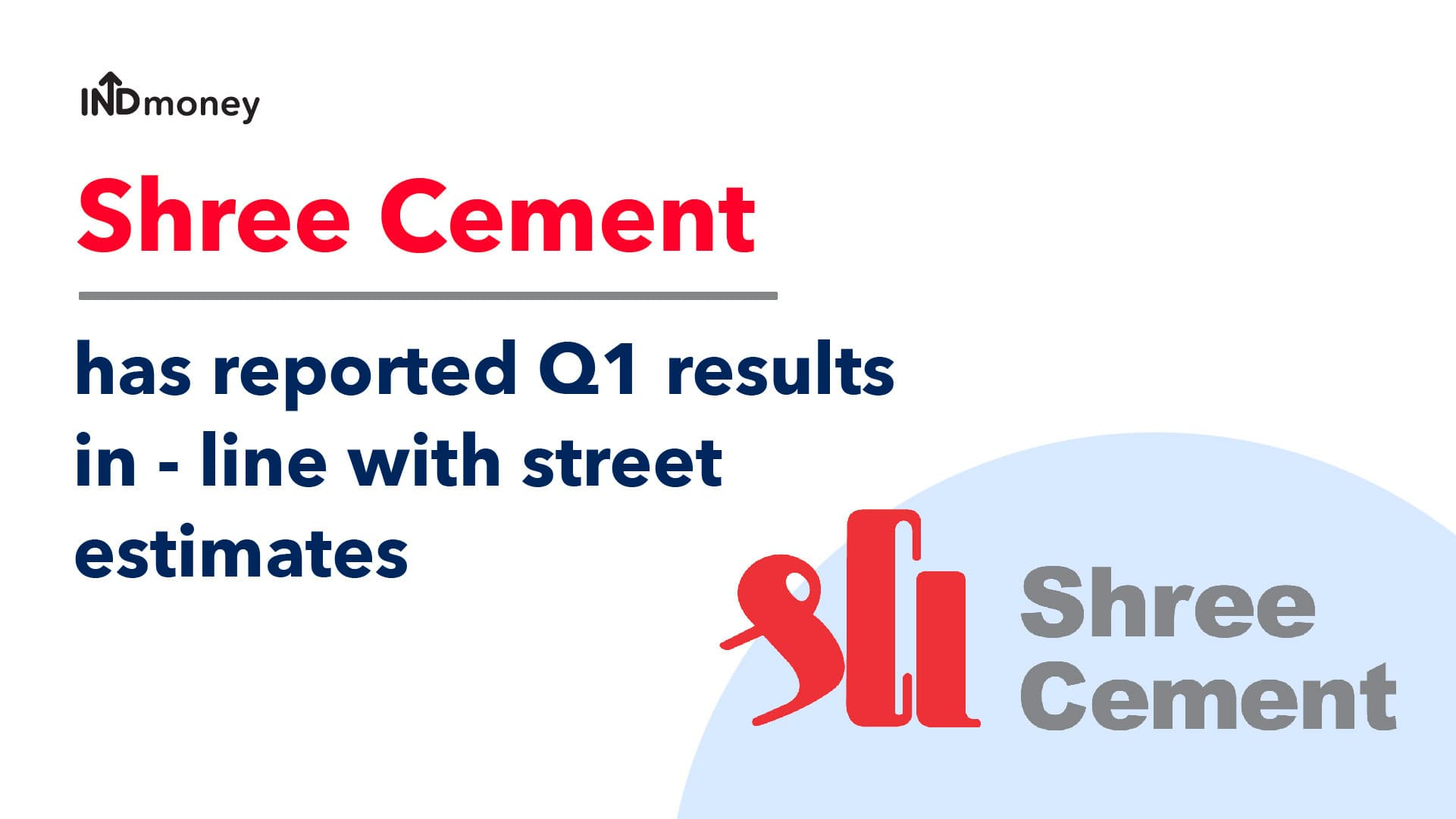 Shree Cement Results: Shree Cement Q1 Results (2021) Date & News