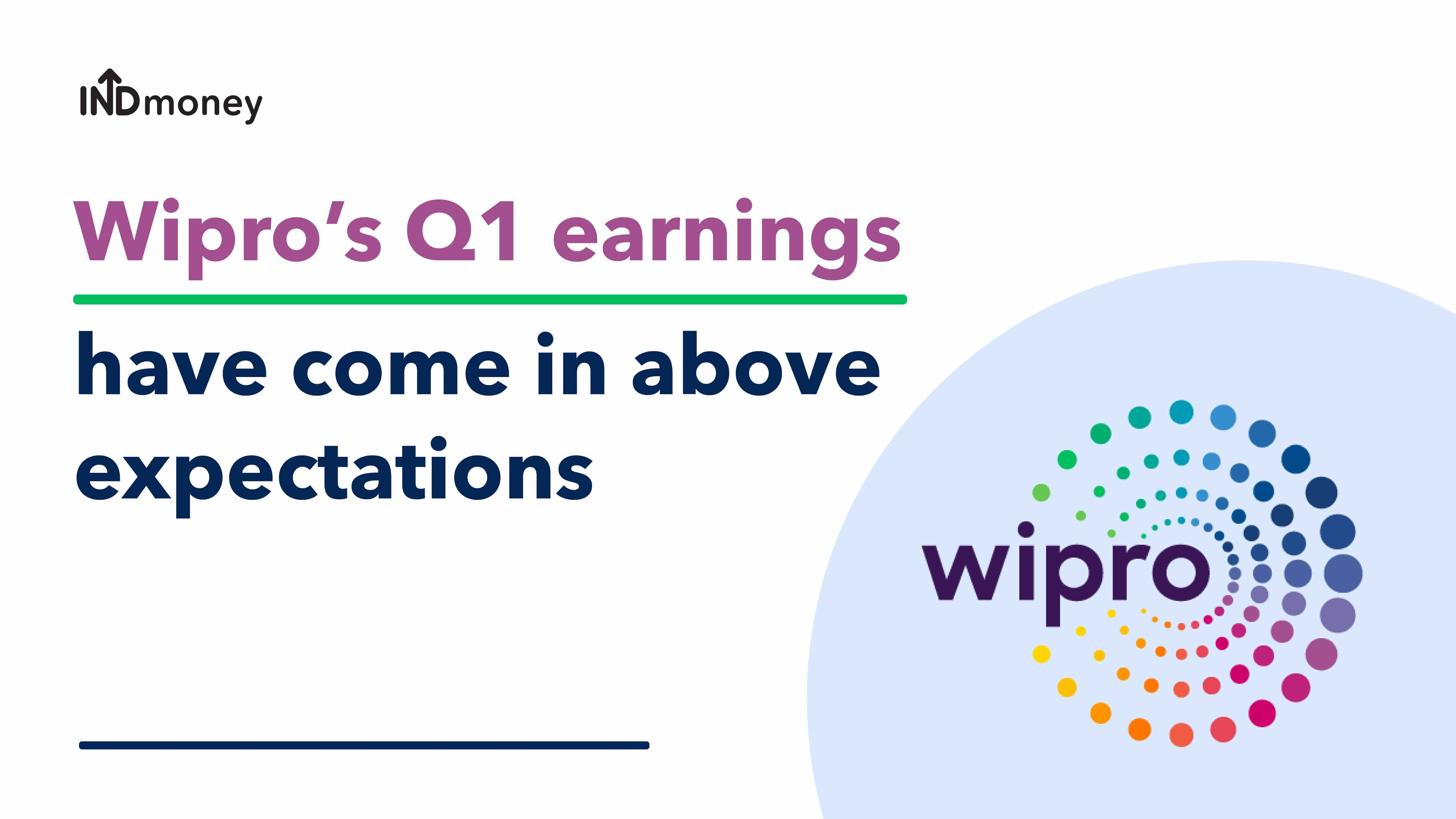 Wipro Results: Wipro Quarterly Results- Q1(2021-22), Earnings, News & Review