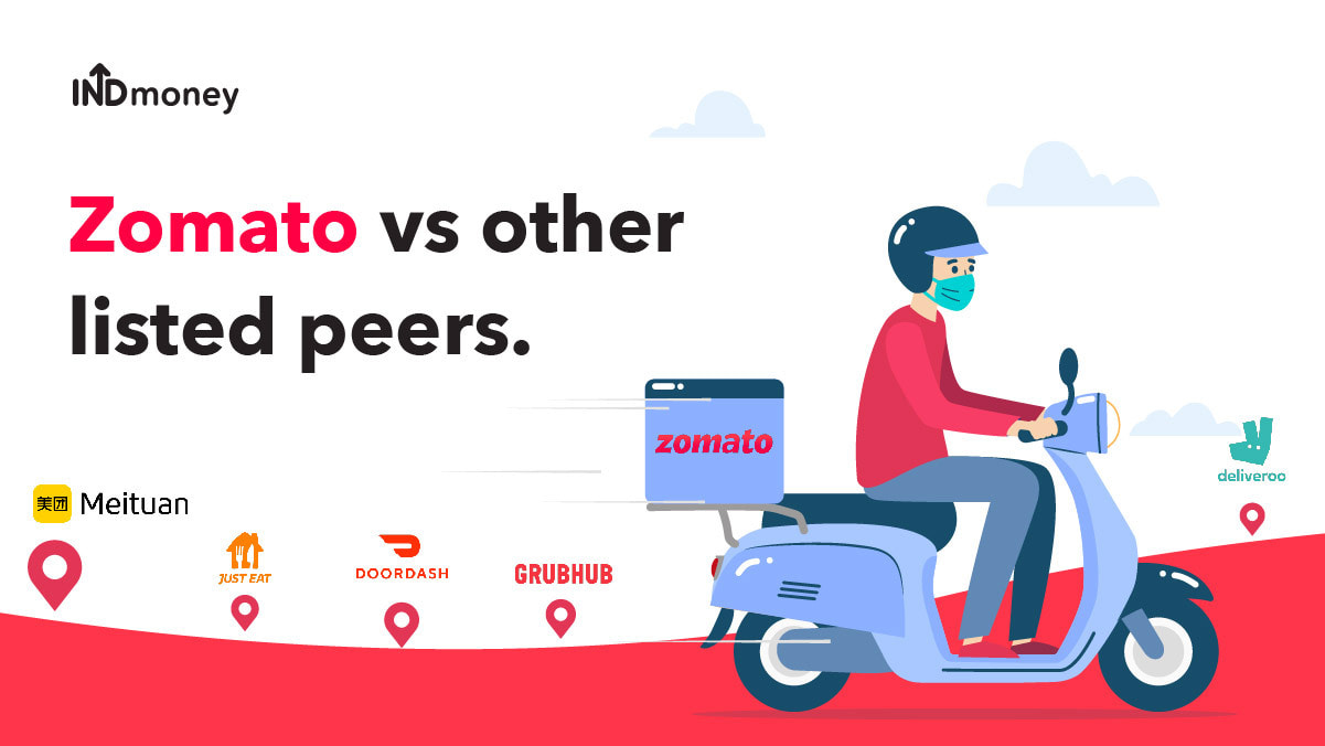 Zomato vs other listed peers: Analysis!