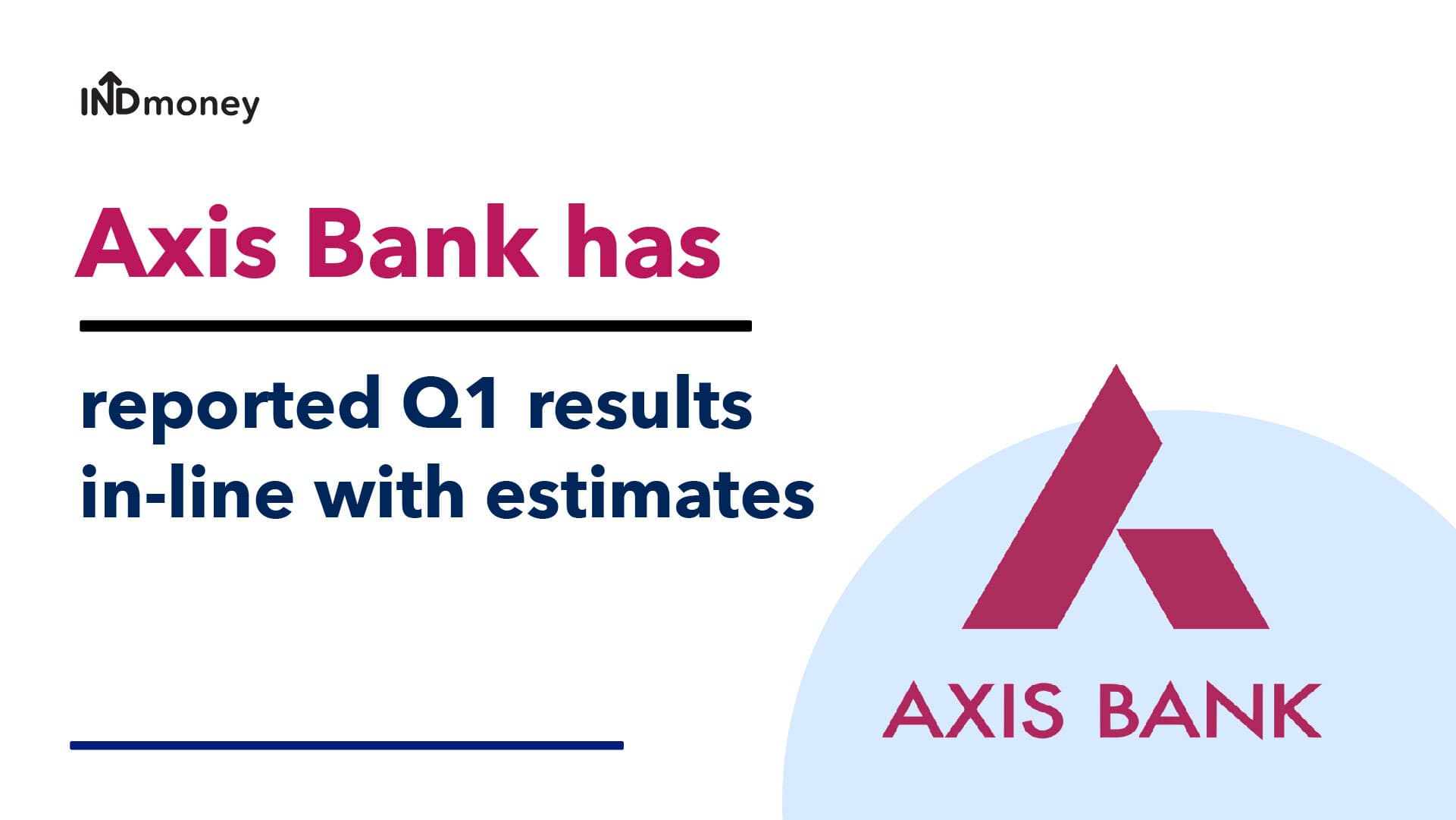 Axis Bank Results: Axis Bank Quarterly Results (Q1:2021) Date, Review & Earnings