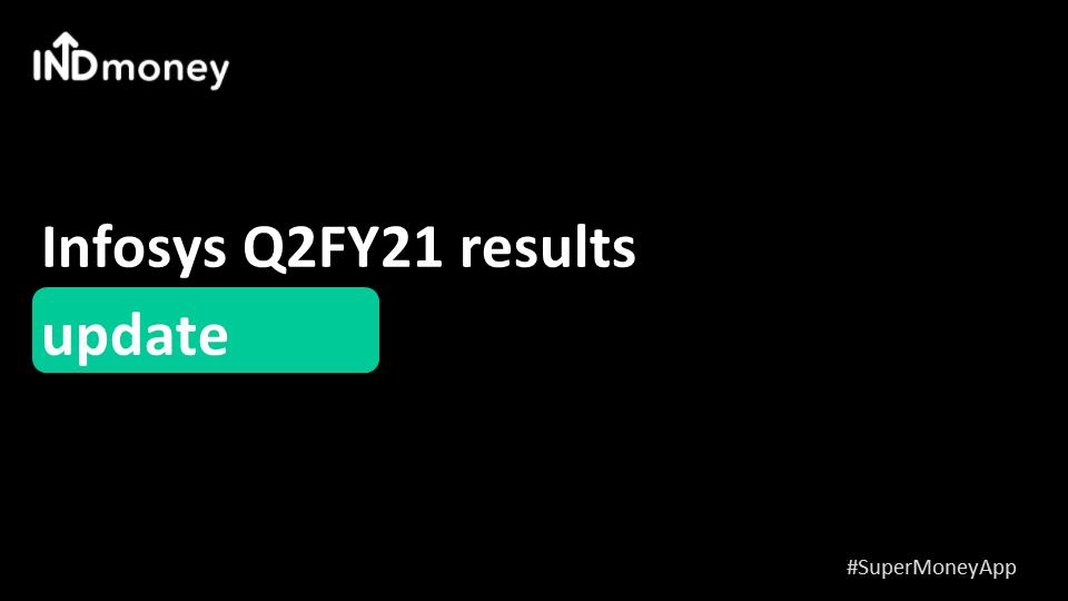 Infosys Q2 results beat estimates