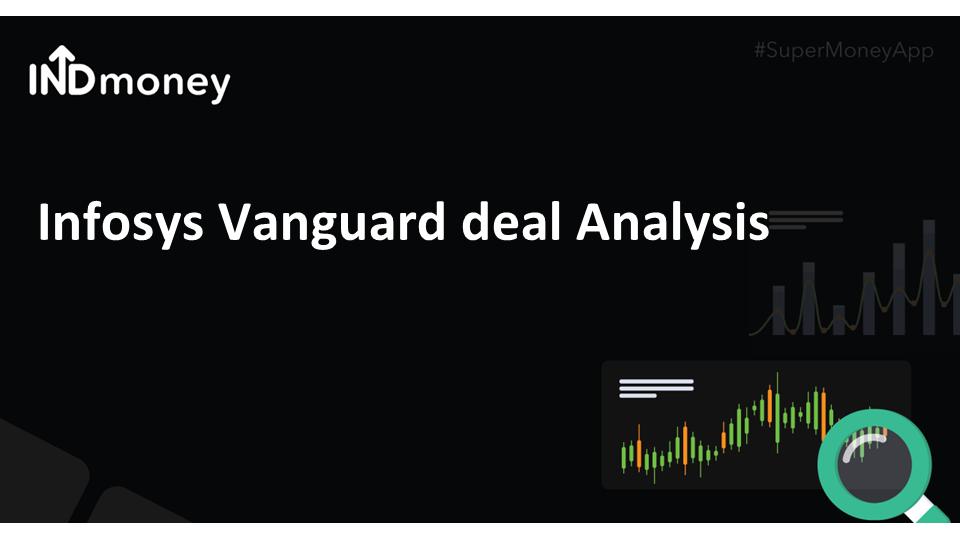 Infosys Vanguard deal
