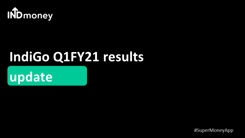 Indigo Q1 results released!