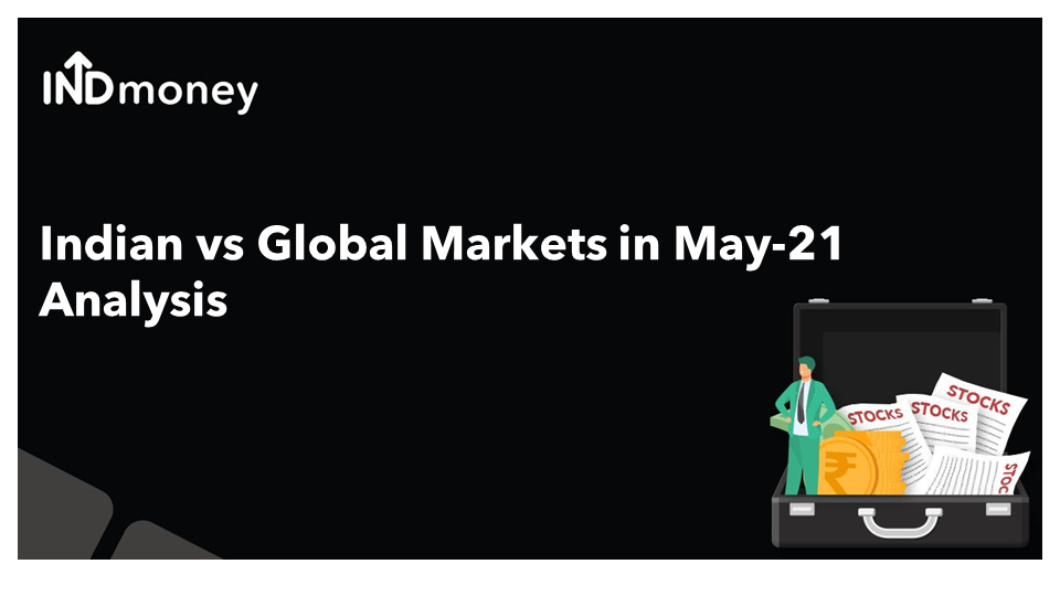 How did Indian and global markets behave in May-21?