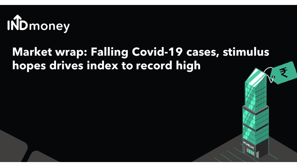 Weekly wrap: Falling Covid-19 cases, stimulus hopes drives Nifty to record high