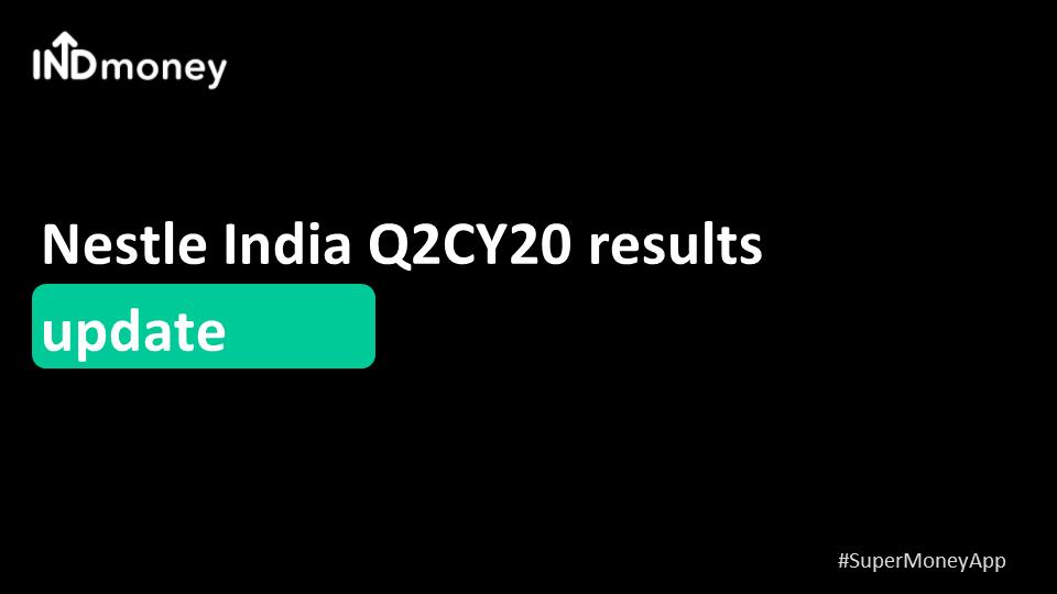 Nestle announces Q2 results!