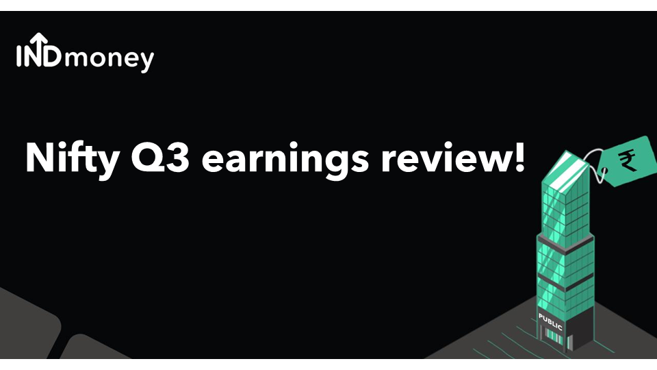 Nifty Q3 earnings review