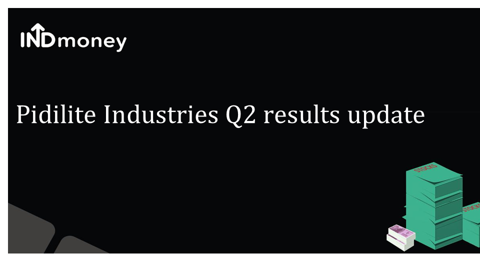 Pidilite Industries Limited Q2FY21 results update
