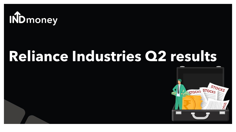 Reliance Industries Q2 results update