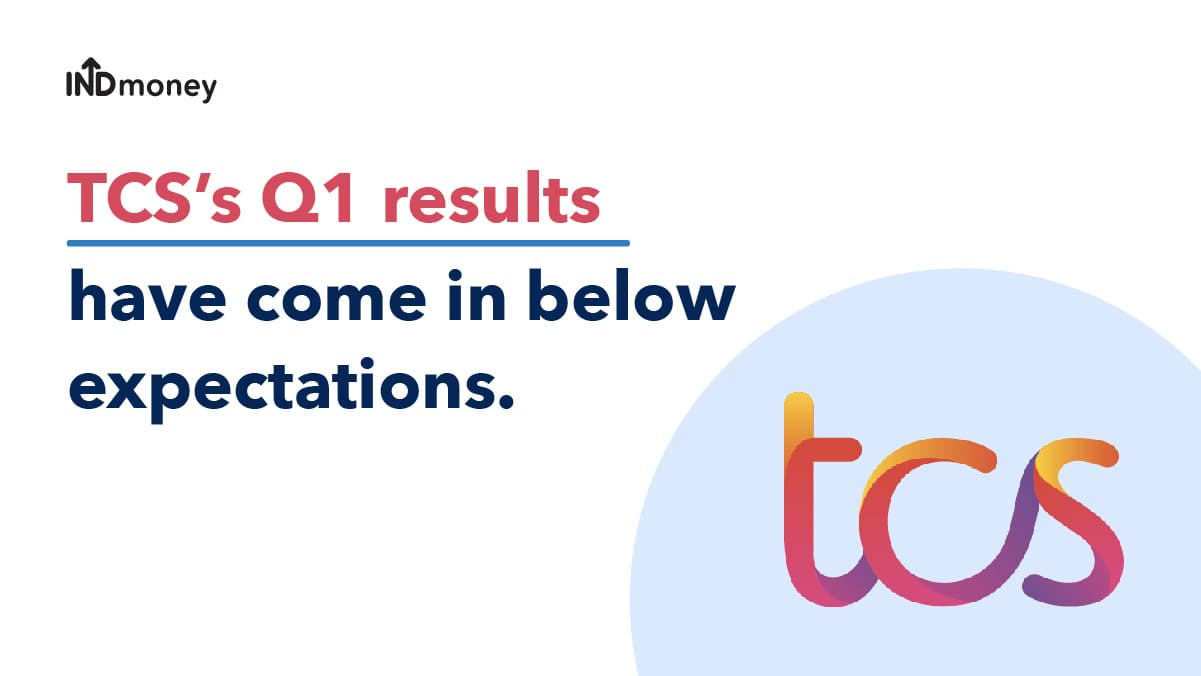 TCS Q1 results (2022): TCS Quarterly Results for Q1, Earnings, News & More