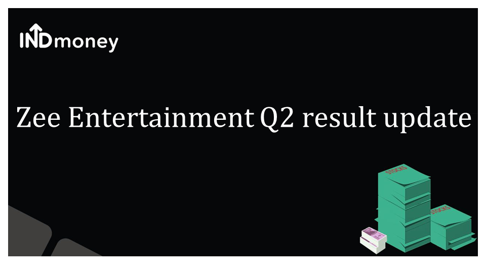 Zee Entertainment Q2 results update!